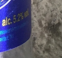 Lager - Nutrition facts