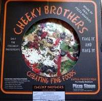 Cheeky Brothers Pizza - Product