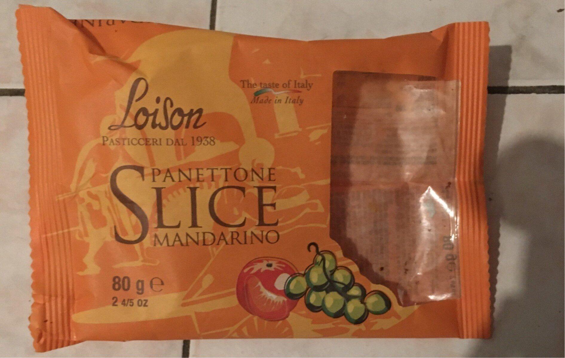 Panettone slice Mandarino - Produit - fr