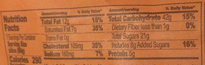 Panettone slice Mandarino - Informations nutritionnelles - fr