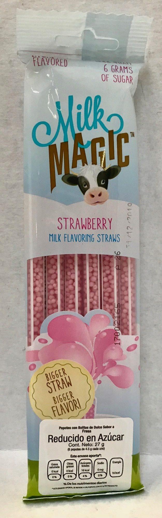 Bolitas de dulce sabor a fresa - Product