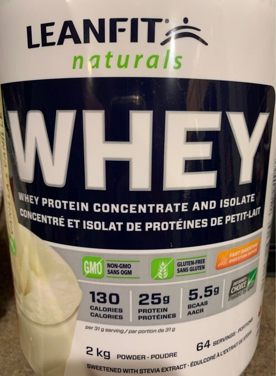 Whey Protein Concentrate and Isolate - Produit - en