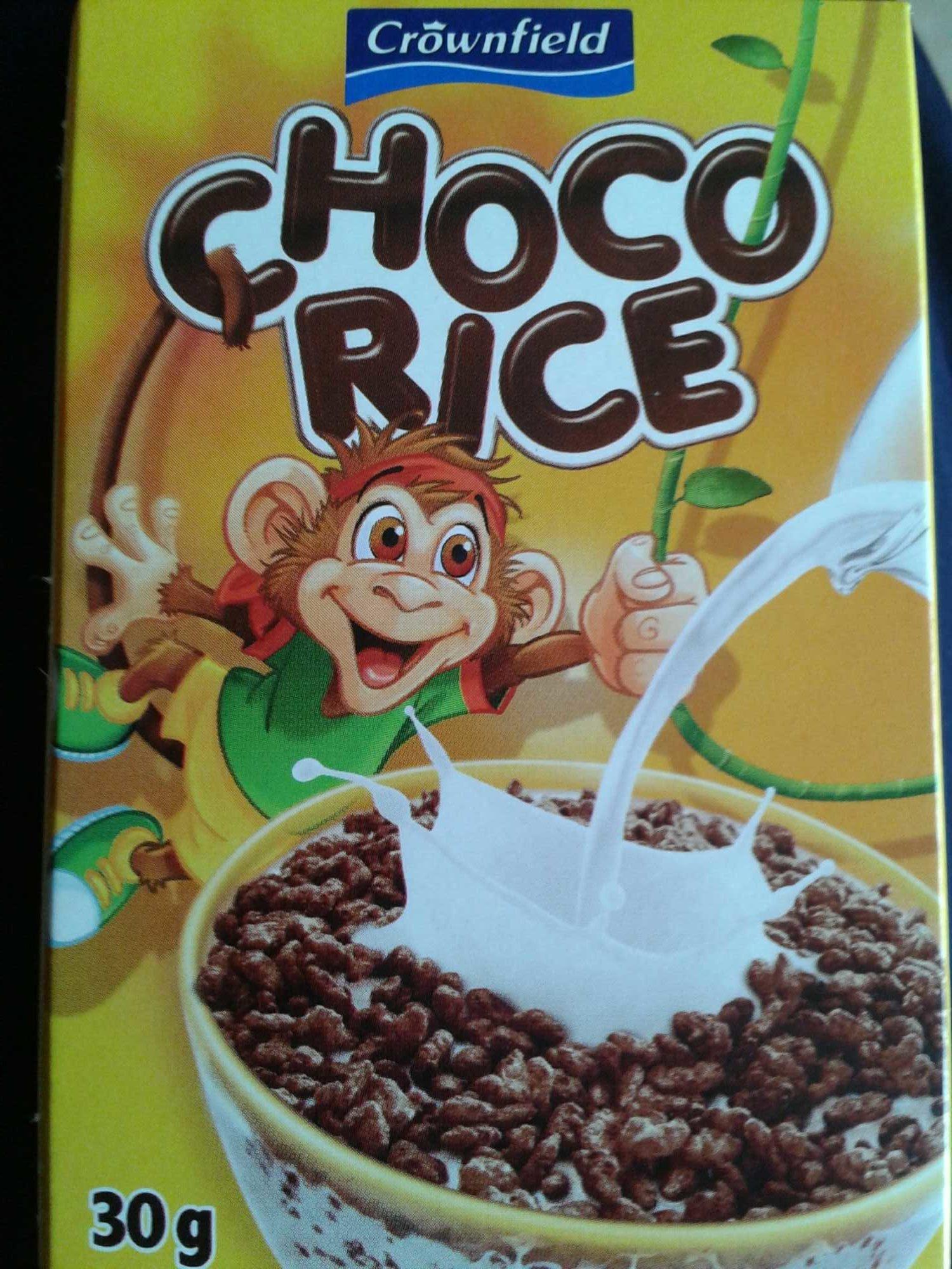 Chocorice, Caramel Dark Chocolate - Product