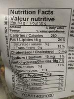 Sierra mix - Nutrition facts - en
