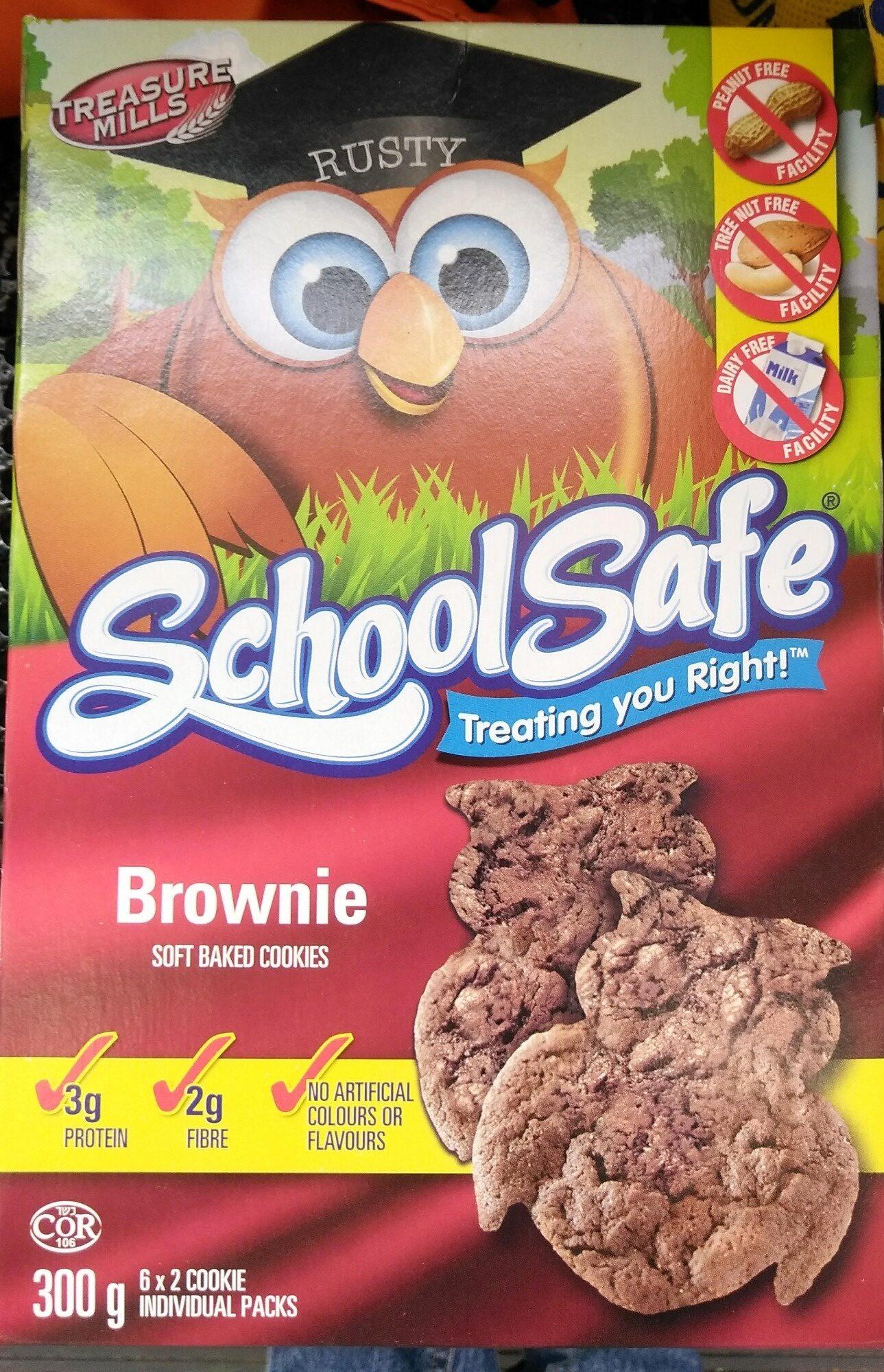 Brownie Soft Baked Cookies - Produit - fr