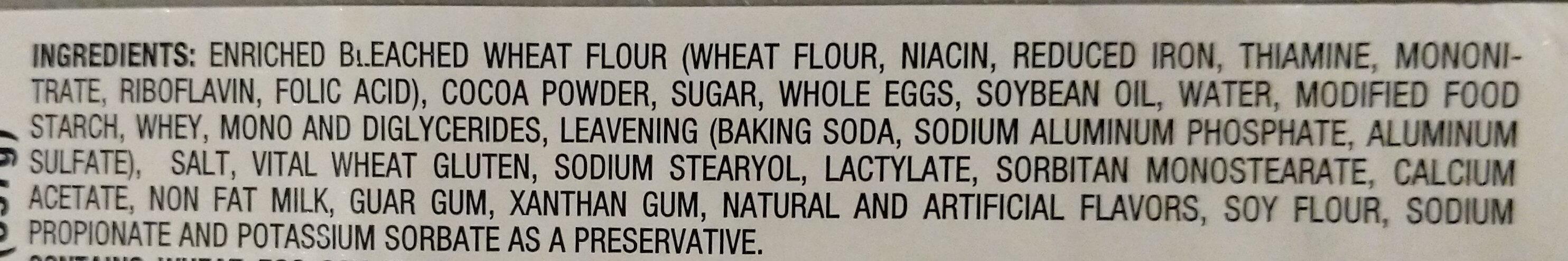 Mini Marble Slices - Ingredients - en