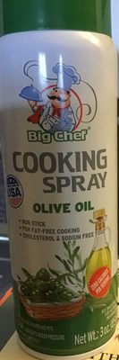 cooking spray olive oil - Produit