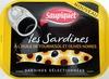 Les Sardines à l'huile de tournesol et olives noires - Product