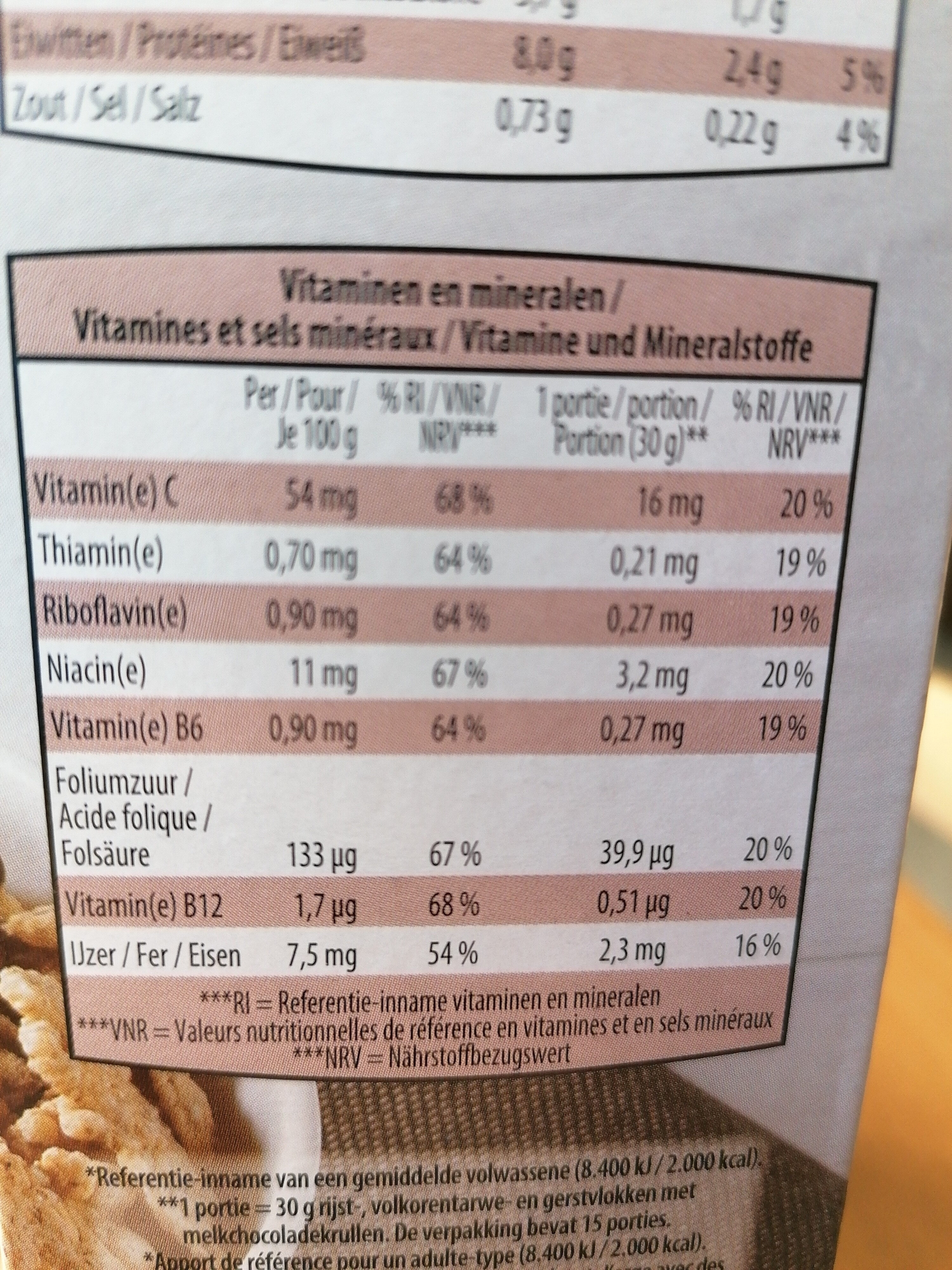 wellness flakes - Product - fr