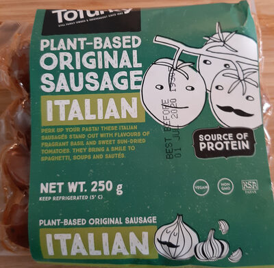 plant-based original sausage Italian - Product