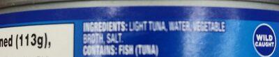 starkist - Ingredients - en