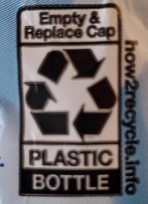 Purified Drinking Water - Istruzioni per il riciclaggio e/o informazioni sull'imballaggio