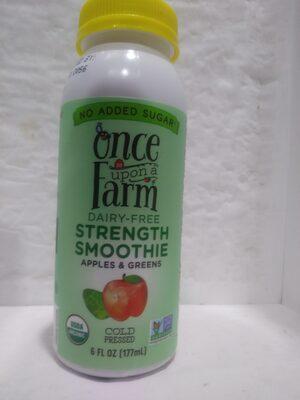Dairy Free Apples & Greens Strength Smoothie - Produit - en