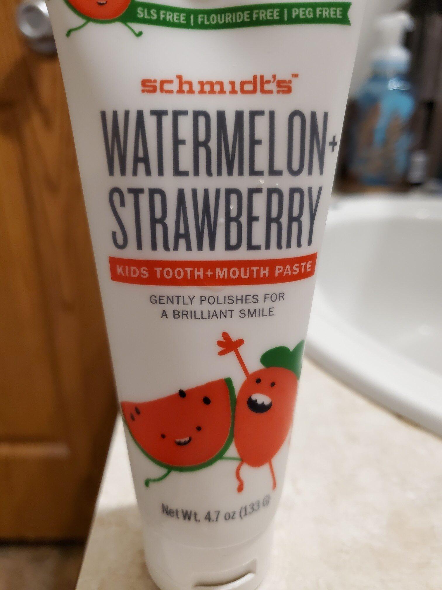 Schmidt's toothpaste - Product