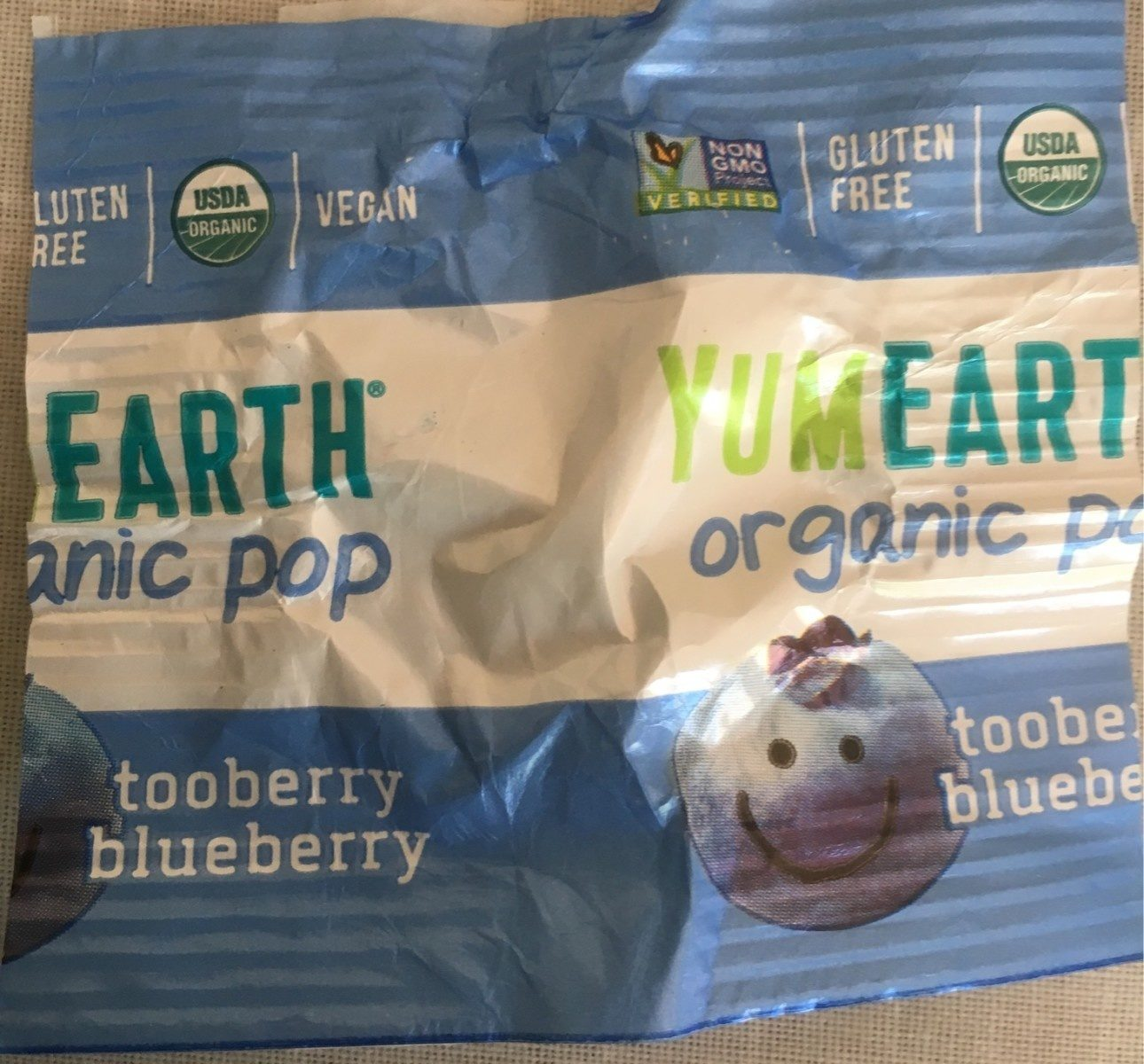 Organic Lollipops - Ingrediënten