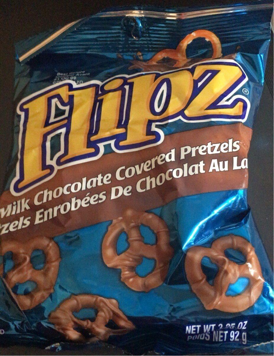 Bretzels enrobés de chocolat au lait - Produit - fr