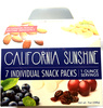 California Sunshine 7 individual snack packs - Produit