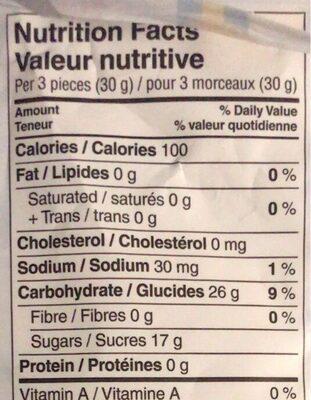 Swedish Viking - Nutrition facts - fr