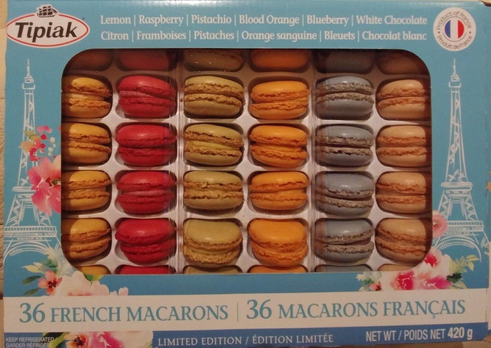 Macarons français - Product - fr