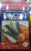 Wild Pacific Sardines in Tomato Sauce - Product - en