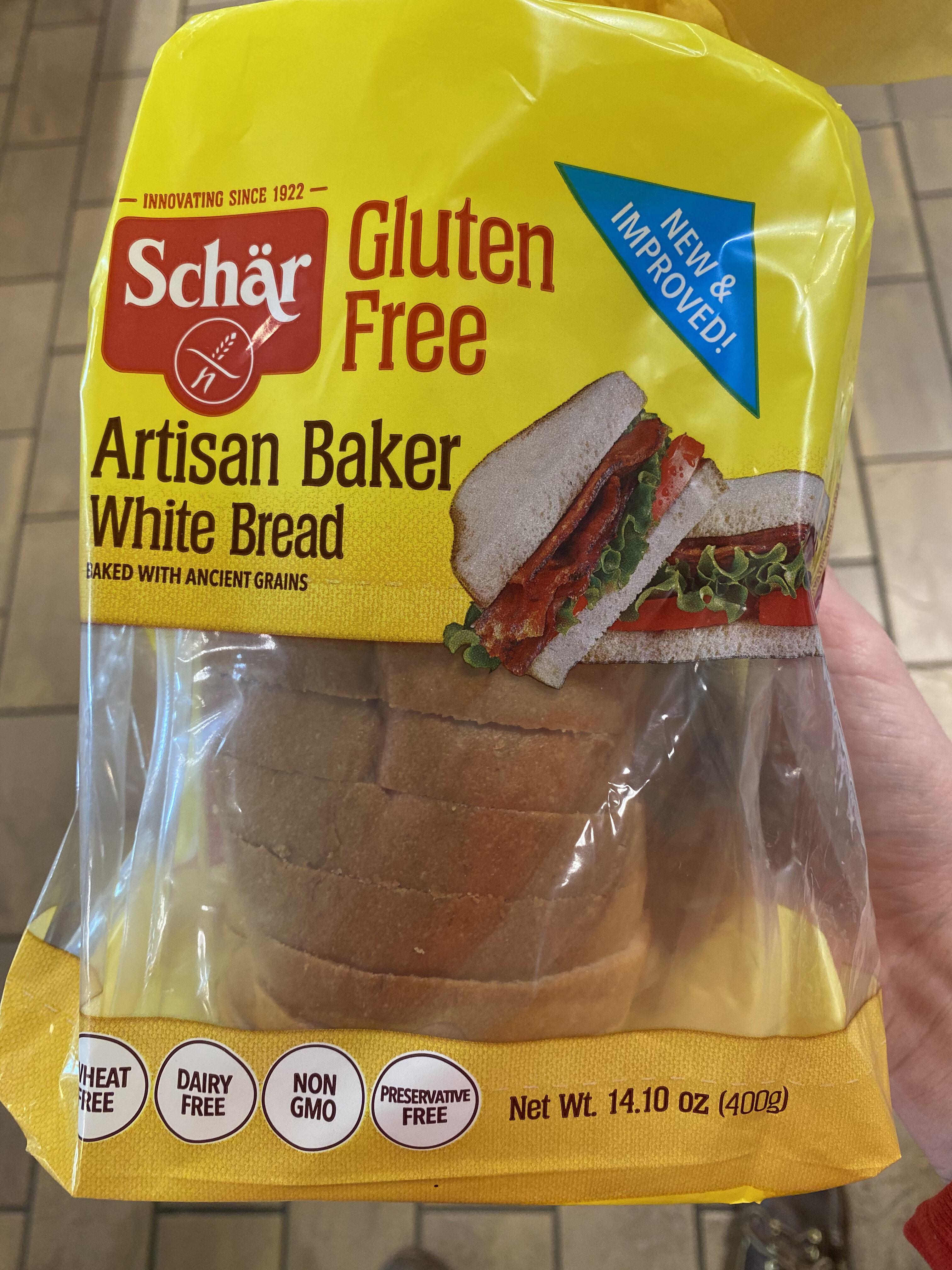 Gluten free artisan baker white bread - Product - en
