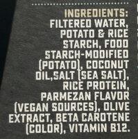 100% vegan parmesan - Ingredients - en
