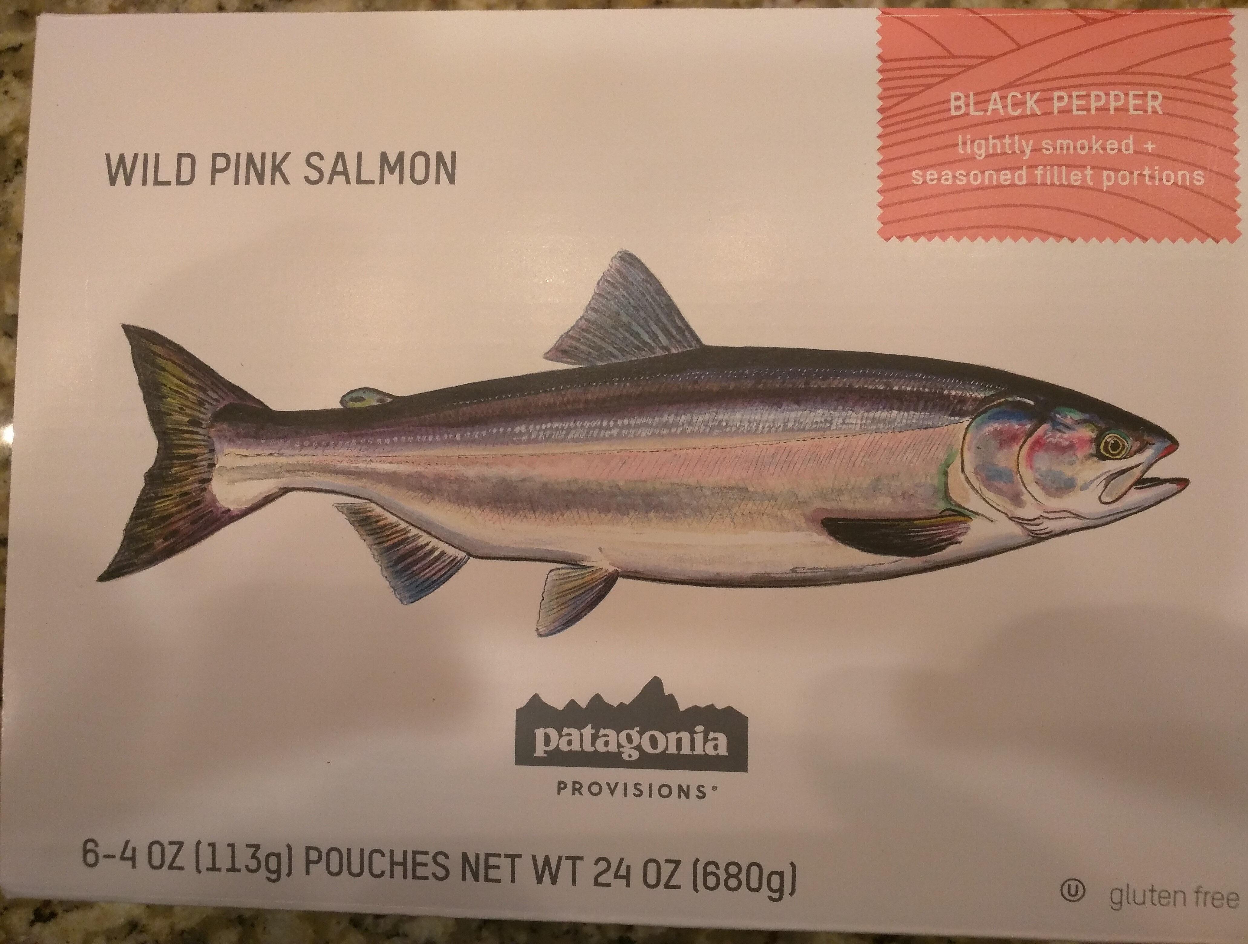 Wild pink salmon - Product