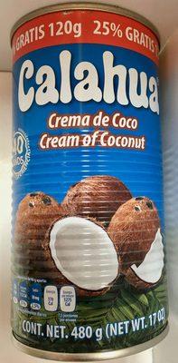 Calahua crema de coco - Product
