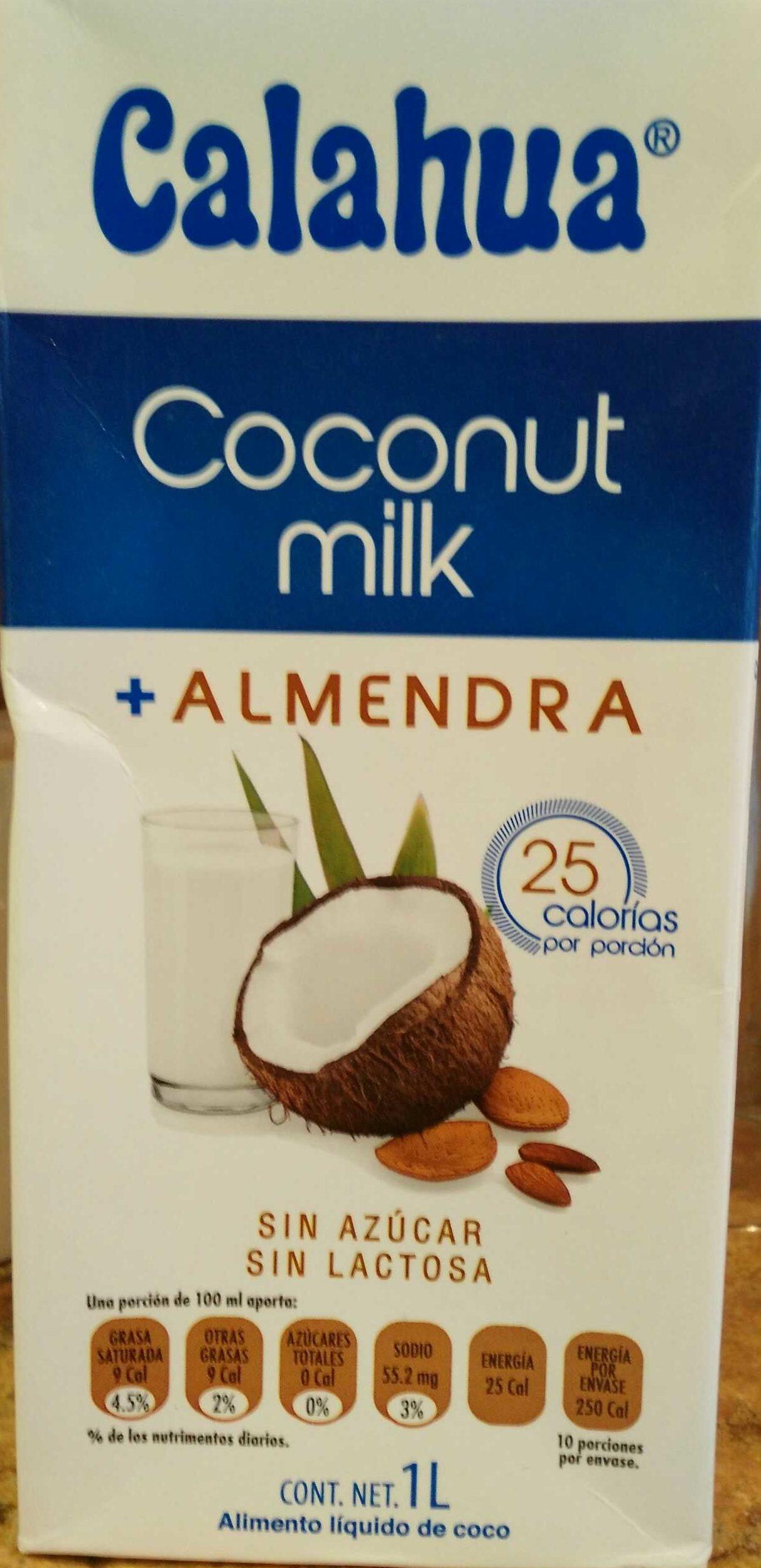 Coconut Milk + almendra - Product - es