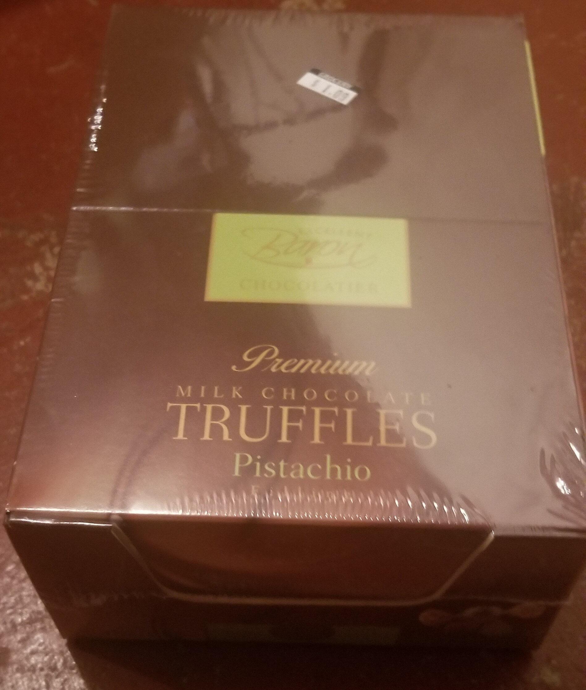 Premium Milk Chocolate Truffles Pistachio - Product - en