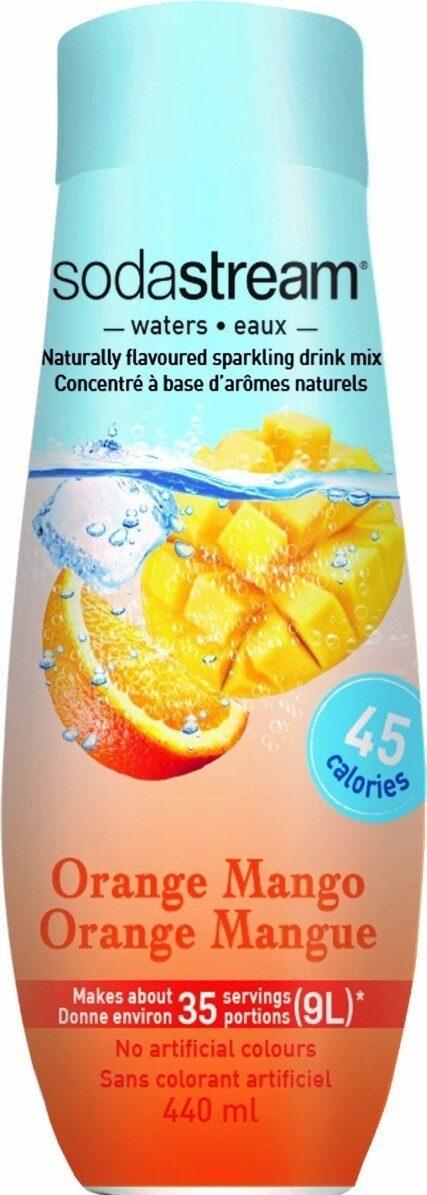 Orange mango syrup - Prodotto - en