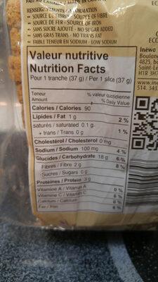spelt & buckwheat sourdough bread - Produit - en
