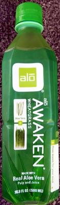 Aloe vera + wheatgrass juice drink - Product