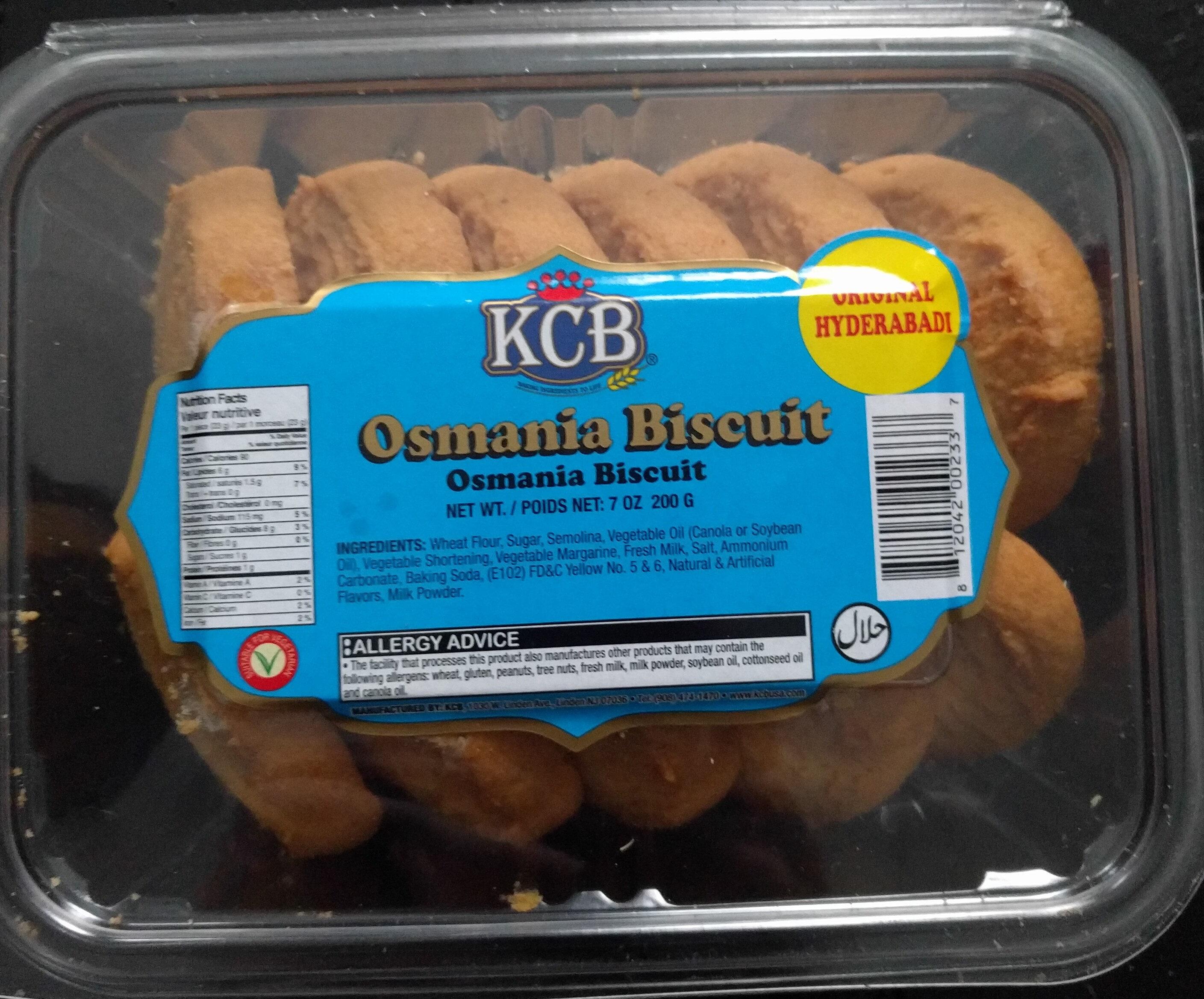 Osmania Biscuit - Product - en