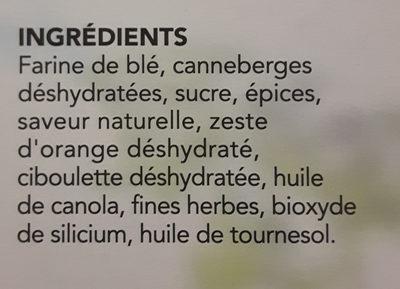 couscous perlé curry et caneberge - Ingrediënten - fr