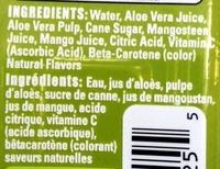 Allure Mango - Ingredients