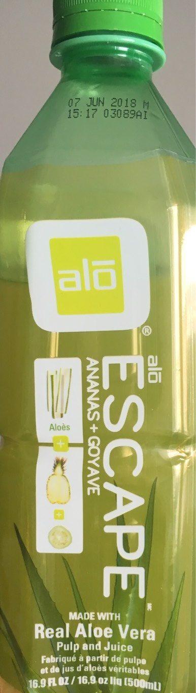 Aloe vera juice drink - Produit - fr