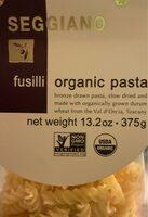 Seggiano organic fusilli pasta - Product - en