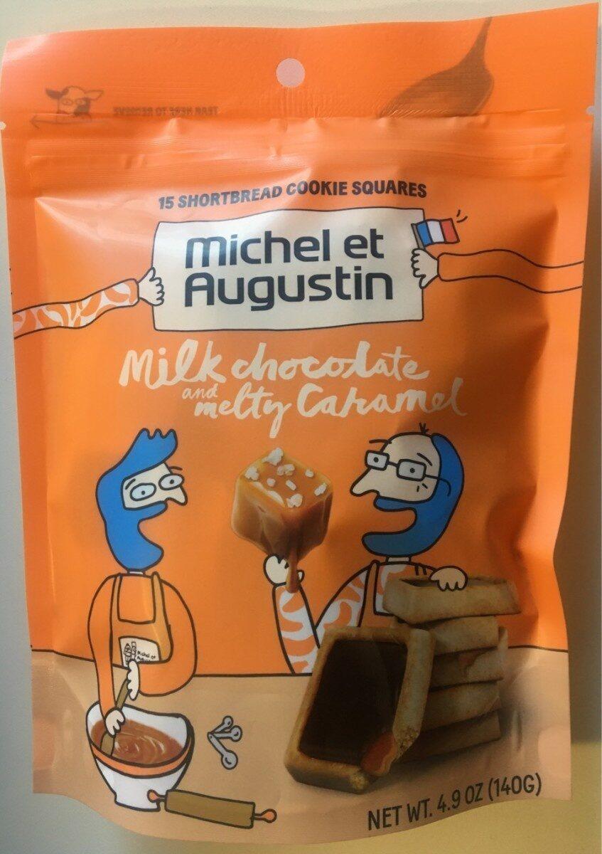 Bag 15 Cookie Squares Caramel & Milk Chocolate - Product - en