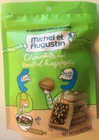 Bag 15 Cookie Squares Hazelnut - Product - en
