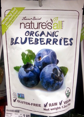 Organic Blueberries - Product
