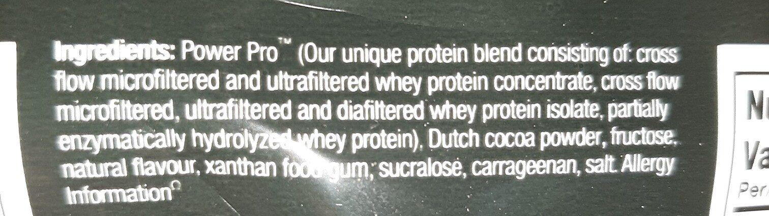 protein - Ingrédients - en