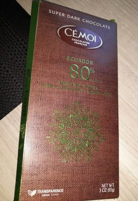Chocolat 80 % de cacao - Product - fr