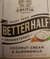 Unsweetened better half coffee creamer - Product - en