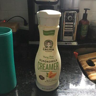 Unsweetened almondmilk creamer, unsweetened - Product - en