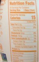 Seasonal pumpkin spice almondmilk coffee creamer - Nutrition facts - en