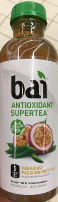 Bai, antioxidant supertea, bottled tea, paraguay passionfruit - Product - en