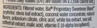 Bai - Ingredients