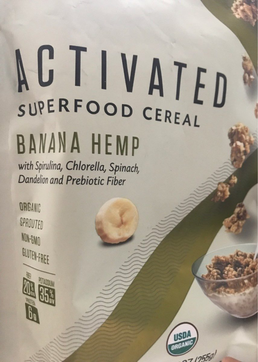 Activated superfood cereal - Product - en