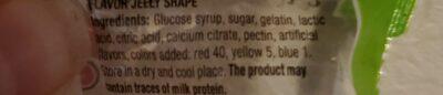 frutti - Ingredients - en